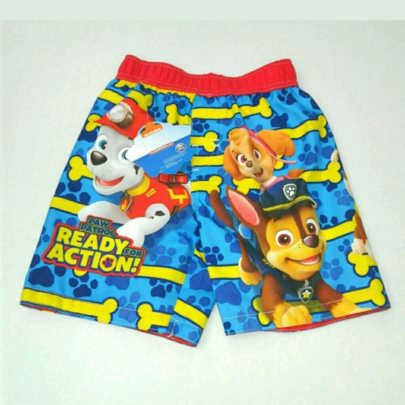 aa3baeaa9e Nickelodeon Swim | Toddler Boys Paw Patrol Short Trunk 4t | Poshmark